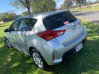 2014 Toyota Corolla ZRE182R Ascent Silver Metallic 6 Speed Manual Hatchback