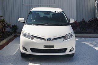 2017 Toyota Tarago ACR50R GLi White 7 Speed Constant Variable Wagon.