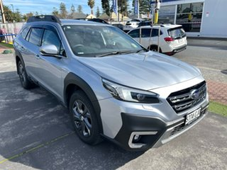 2021 Subaru Outback B7A MY21 AWD CVT Ice Silver 8 Speed Constant Variable Wagon.