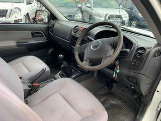 2010 Isuzu D-MAX TF MY10 SX (4x2) White 5 Speed Manual Cab Chassis