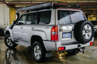 2013 Nissan Patrol Y61 GU 8 ST Silver, Chrome 4 Speed Automatic Wagon.