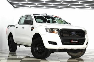 2015 Ford Ranger PX MkII XL 3.2 (4x4) White 6 Speed Automatic Crew Cab Utility.