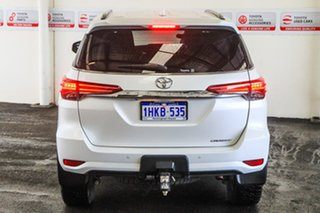 2018 Toyota Fortuner GUN156R MY18 Crusade Crystal Pearl 6 Speed Automatic Wagon