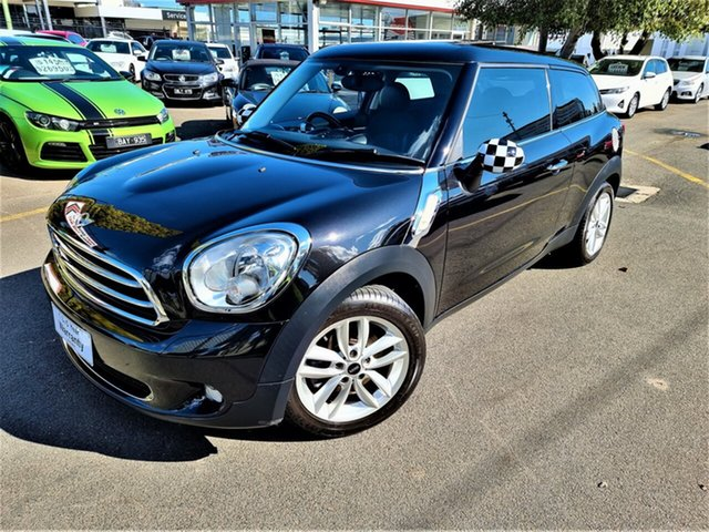 Used Mini Paceman R61 Cooper Seaford, 2013 Mini Paceman R61 Cooper Black 6 Speed Sports Automatic Coupe