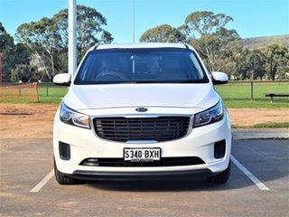 2016 Kia Carnival YP MY16 S White 6 Speed Sports Automatic Wagon.
