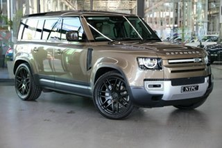 2020 Land Rover Defender L663 20.5MY S Brown 8 Speed Sports Automatic Wagon.