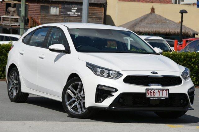 Used Kia Cerato BD MY19 Sport+ Aspley, 2018 Kia Cerato BD MY19 Sport+ White 6 Speed Sports Automatic Hatchback