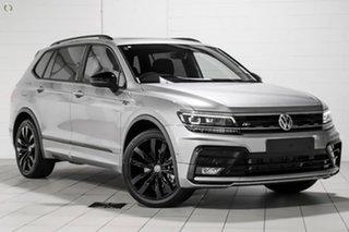 2021 Volkswagen Tiguan 5N MY21 162TSI Wolfsburg Edition DSG 4MOTION Allspace Silver 7 Speed.