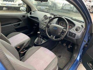 2008 Ford Fiesta WQ LX Blue 5 Speed Manual Hatchback
