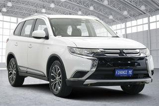 2018 Mitsubishi Outlander ZL MY18.5 ES AWD ADAS White 6 Speed Constant Variable Wagon.