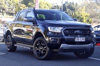 2021 Ford Ranger PX MkIII 2021.25MY Wildtrak Shadow Black 6 Speed Sports Automatic.