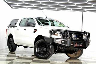 2015 Ford Ranger PX MkII XL 3.2 (4x4) White 6 Speed Manual Crew Cab Utility.