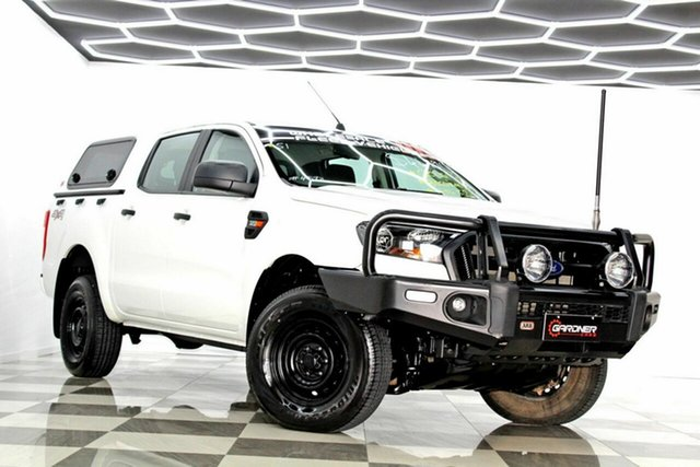 Used Ford Ranger PX MkII XL 3.2 (4x4) Burleigh Heads, 2015 Ford Ranger PX MkII XL 3.2 (4x4) White 6 Speed Manual Crew Cab Utility