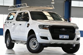 2018 Ford Ranger PX MkII MY18 XL 2.2 Hi-Rider (4x2) Cool White 6 Speed Automatic Crew Cab Pickup.