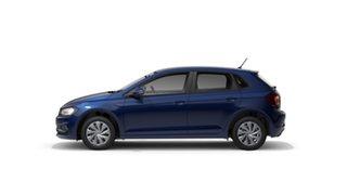 2021 Volkswagen Polo Style Reef Blue Metallic 7 Speed Semi Auto Hatchback.