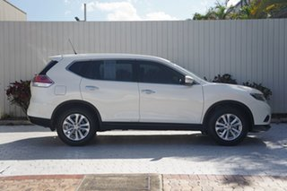 2016 Nissan X-Trail T32 ST X-tronic 2WD Pearl Black 7 Speed Constant Variable Wagon.