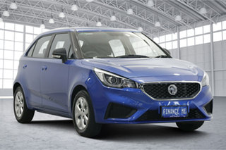 2020 MG MG3 SZP1 MY20 Core Regal Blue 4 Speed Automatic Hatchback.