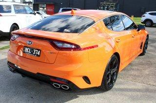 2019 Kia Stinger CK MY19 GT Fastback Orange 8 Speed Sports Automatic Sedan