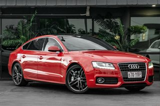 2011 Audi A5 8T MY11 Sportback S Tronic Quattro Red 7 Speed Sports Automatic Dual Clutch Hatchback.