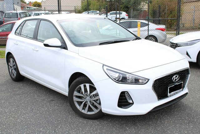 Used Hyundai i30 PD2 MY20 Active Ferntree Gully, 2020 Hyundai i30 PD2 MY20 Active White 6 Speed Sports Automatic Hatchback