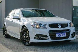 2014 Holden Commodore VF MY14 SS V Redline White/w 6 Speed Manual Sedan.