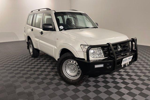 Used Mitsubishi Pajero NW MY12 GL Acacia Ridge, 2013 Mitsubishi Pajero NW MY12 GL White 5 speed Automatic Wagon
