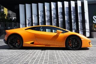 2018 Lamborghini Huracan 724 LP580-2 Atomic Orange 7 Speed Sports Automatic Dual Clutch Coupe