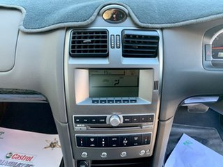 2006 Ford Fairmont BF Mk II Gold 4 Speed Sports Automatic Sedan