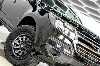 2018 Holden Colorado RG MY19 LS (4x2) Black 6 Speed Automatic Crew Cab Pickup.