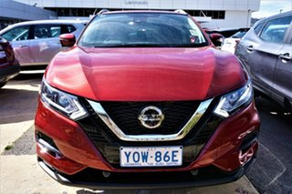 2021 Nissan Qashqai J11 Series 3 MY20 ST-L X-tronic Magnetic Red 1 Speed Constant Variable Wagon.