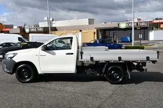 2020 Toyota Hilux TGN121R Workmate 4x2 White 5 Speed Manual Cab Chassis
