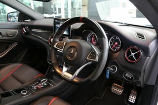 2016 Mercedes-Benz CLA-Class C117 807MY CLA45 AMG SPEEDSHIFT DCT 4MATIC White 7 Speed.