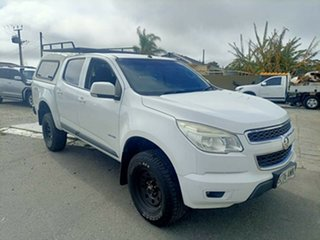 2013 Holden Colorado RG LX (4x4) 6 Speed Automatic Crew Cab Chassis.