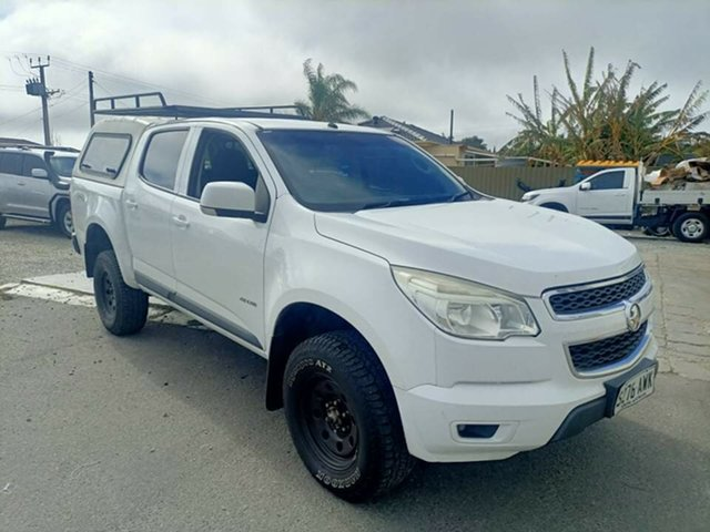 Used Holden Colorado RG LX (4x4) Prospect, 2013 Holden Colorado RG LX (4x4) 6 Speed Automatic Crew Cab Chassis
