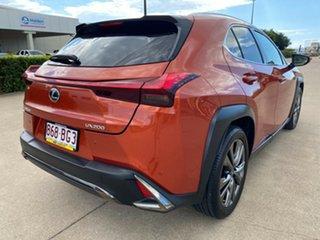 2018 Lexus UX MZAA10R UX200 2WD F Sport Orange/180119 1 Speed Constant Variable Hatchback.