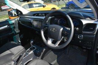 2017 Toyota Hilux GUN126R SR5 (4x4) Black 6 Speed Automatic Dual Cab Utility