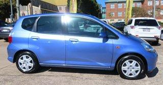 2006 Honda Jazz Upgrade GLi Purplish Blue Continuous Variable Hatchback.