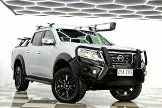 2016 Nissan Navara D23 Series II RX (4x4) Silver 7 Speed Automatic Double Cab Utility.