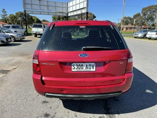 2009 Ford Territory SY MkII TS RWD Red 4 Speed Sports Automatic Wagon