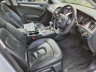 2012 Audi A4 B8 8K MY13 Multitronic White 8 Speed Constant Variable Sedan