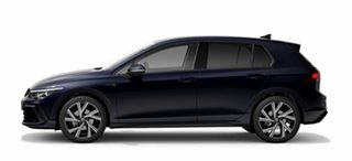 2021 Volkswagen Golf 8 MY21 110TSI R-Line Blue 8 Speed Sports Automatic Hatchback.