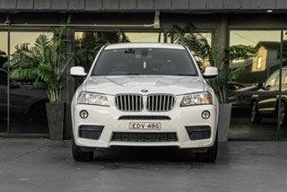 2011 BMW X3 F25 xDrive30d Steptronic White 8 Speed Automatic Wagon.