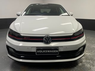 2018 Volkswagen Polo AW MY19 GTI DSG White 6 Speed Sports Automatic Dual Clutch Hatchback.
