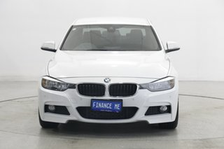 2014 BMW 3 Series F30 MY1114 320d M Sport White 8 Speed Sports Automatic Sedan.