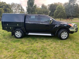 2014 Mazda BT-50 UP0YF1 XTR Black 6 Speed Sports Automatic Utility.