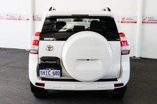 2016 Toyota Landcruiser Prado GRJ150R MY16 GXL (4x4) Glacier White 6 Speed Automatic Wagon