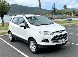 2015 Ford Ecosport BK Trend White 6 Speed Automatic Wagon.