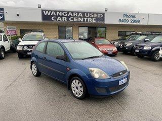 2008 Ford Fiesta WQ LX Blue 5 Speed Manual Hatchback.