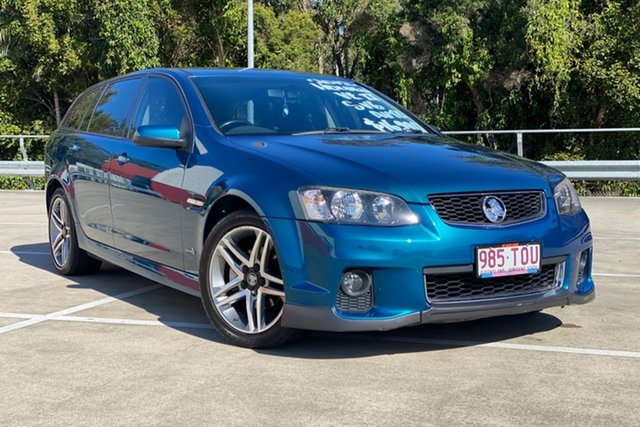 Used Holden Commodore Morayfield, 2012 Holden Commodore SV6 VEII MY12 Green 6 Speed Auto Active Select Wagon