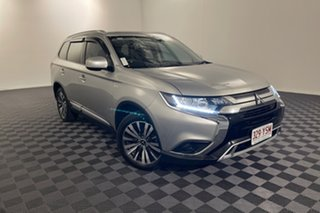 2018 Mitsubishi Outlander ZL MY19 LS AWD Silver 6 speed Automatic Wagon.